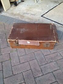 Old Suitcase Theatrical Display Shappy Chic Props