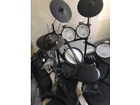 Roland TD-25K V-Drum Kit, Mapex Hi Hat Stand and Mapex Double Bass Pedal