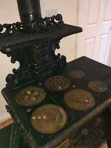 Antique Prince National Cast Iron Stove for sale