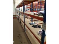 job lot RAPID 1 industrial longspan shelving ( storage , pallet racking )