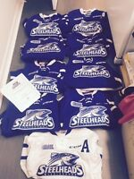 Game worn jerseys OHL