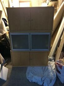 IKEA wall mounted cupboards