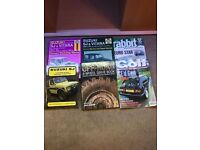 4 x 4 Suzuki Manuals and Golf Magazines