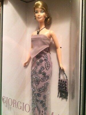 Giorgio Armani Barbie Doll Designer Gown Handbag 2003 Ltd. Edition Mackie Face
