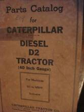 CATERPILLAR D2 DIESEL TRACTOR BULLDOZER PARTS BOOK c1941 Dianella Stirling Area Preview