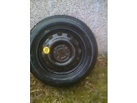 ford mondeo firestone spacesaver wheel and tyre 195/60/r15