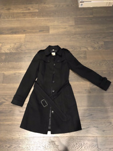 Brand New Burberry Trench Coat. Size 0.