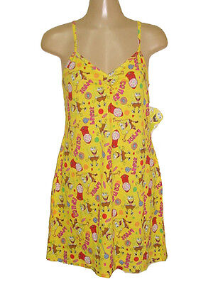 NEW SPONGEBOB SQUAREPANTS CANDY SEXY CHEMISE SLEEP GOWN GIFTS M, L](Spongebob Robe)