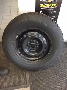 "16"" Winter Tires - Barum Polaris 3 - 235/70 R16 T - Like NEW! London Ontario image 2"