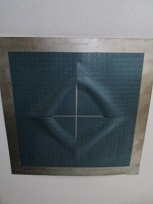 MODERN ART-Großes Wandobjekt-Metall-UNIKAT