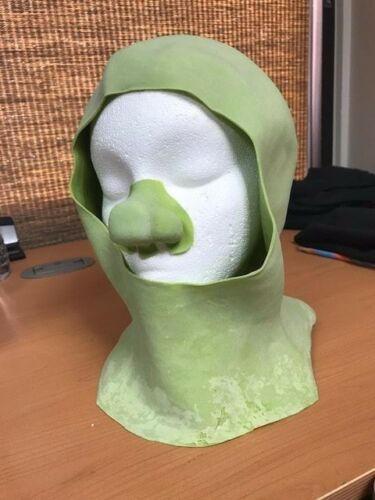 Shrek Ogre Cowl with nose