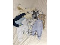 Baby clothes - sized upto 4.5kg/10lbs