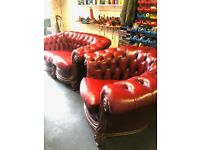 Lovely Chesterfield 2-seater and 1 seater