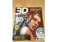 3D World Skin Deep/ Star Power Nov 2007 +Free CD