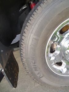 4 - as new Michelin LTX AT2 truck tires for sale.