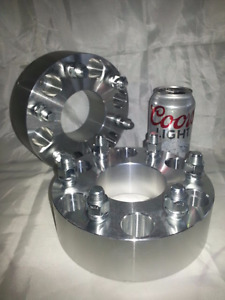 "2 pc Chevy GMC 6x5.50 Accessories Plus 2.00"" Inch Wheel Spacer"