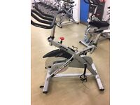 REDUCED FOR QUICK SALE 10 SPINNING BIKES £160 EACH! COMMERCIAL GRADE WILL SELL AS JOB LOT