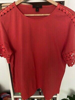 Women's J-Crew Red T-shirt - Size M