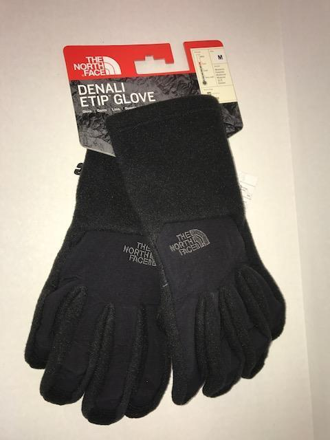 North Face Women's Denali Etip Glove Tnf Black