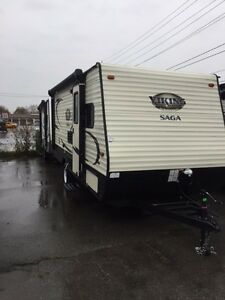 Brand new trailers for rent Sleeps 5