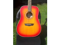 Washburn Harvest Series WD7S-ACSM acoustic guitar for sale or swap