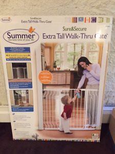 Summer Infant Extra Tall Walk Thru Gate