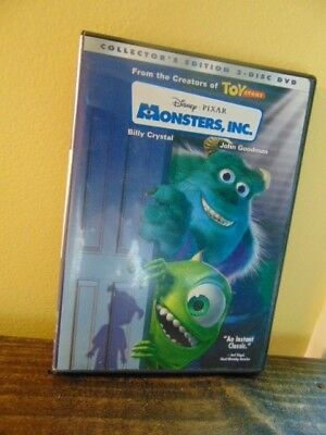 Disney PIXAR's MONSTERS,INC.(DVD,2002,2-Disc Collectors Edition) Sully Mike