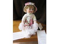 Porcelain Collectors Doll - Hamilton Collection - Chelsea