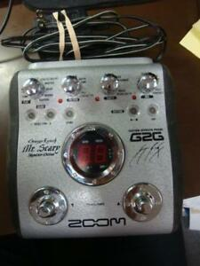 "Zoom G2G ""George Lynch Mr. Scary"" MULTI-EFFECTS GUITAR PEDAL"