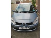 Renault Grand Scenic 2007, MPV , MOT 2017, Colour Blue, 1998cc.