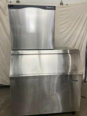 Scotsman Prodigy 1000 Lb. Ice Machine With A 900 Bin
