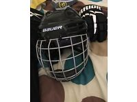 Bauer ice hockey helmet brand new