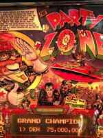 Bally party zone pinball