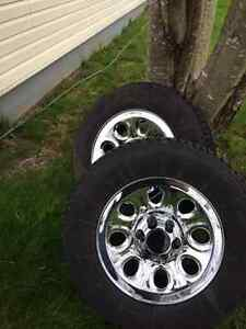 17 Inch Chrome Wheels And Tires