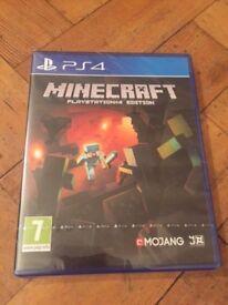 Brand New - Unopened - PS4 Minecraft game - Latest Version