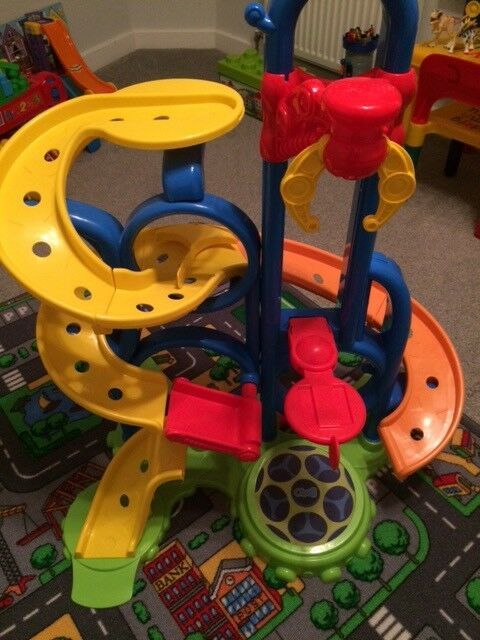 Oball Go Grippers bounce and zoom speedway.