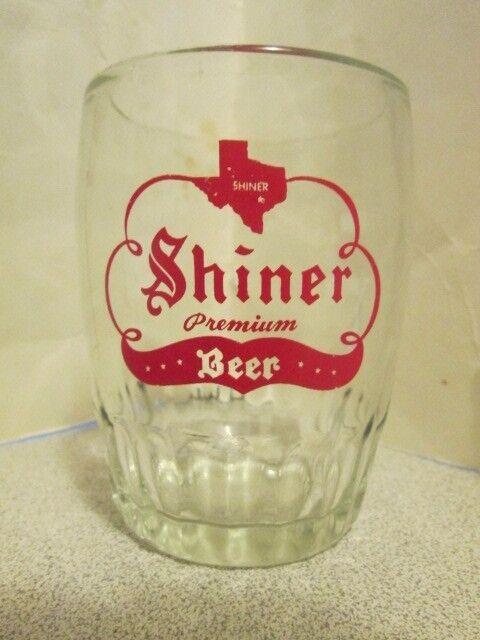 Shiner Barrel Glass