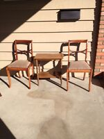 Nice antique chairs & other