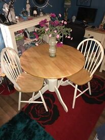Table & 2 Chairs For Sale, Excellent Condition