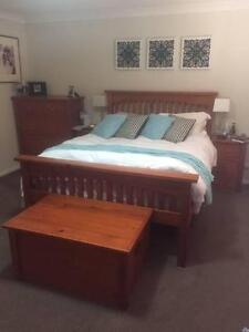 Bedroom Suite, 2 Bedside Drawers, 2 Tall Boys, 1 Blanket Box Rouse Hill The Hills District Preview