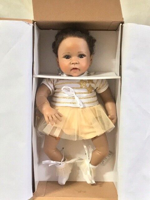 Bradford Exchange Linda Murray A Star Is Born Weighted Baby Doll DAMAGED