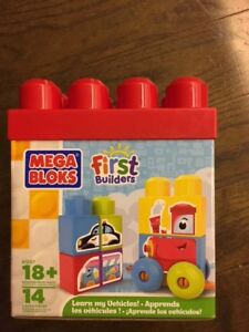 MEGA BLOKS - First Builders - Learn my Vehicles