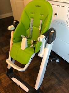 Peg Perego Siesta High Chair (Green) Toronto & Vaughan