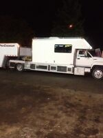 For sail truck and trailer
