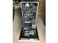 SOLD - Hotpoint Slimline Dishwasher (integrated)