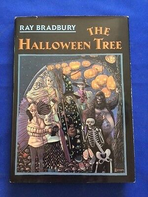 THE HALLOWEEN TREE: FIFTEENTH ANNIVERSARY EDITON - INSCRIBED  BY RAY BRADBURY ](The Halloween Tree 1st Edition)