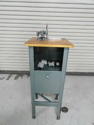 Lassco Round Corner Machine, Model 50, Floor Model, With 4 dies