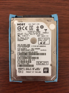 1TB 2.5-inch SATA / Laptop or Macbook Hard Drive
