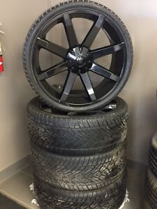 26' WHEEL PACKAGE- CHEV/GMC/FORD BOLT PATTERN