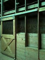 Horse Boarding...Limited Stalls available